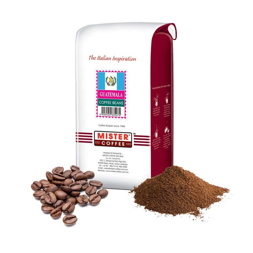 [Mister Coffee] Coffee Beans / Ground Coffee - Guatemala (500g)