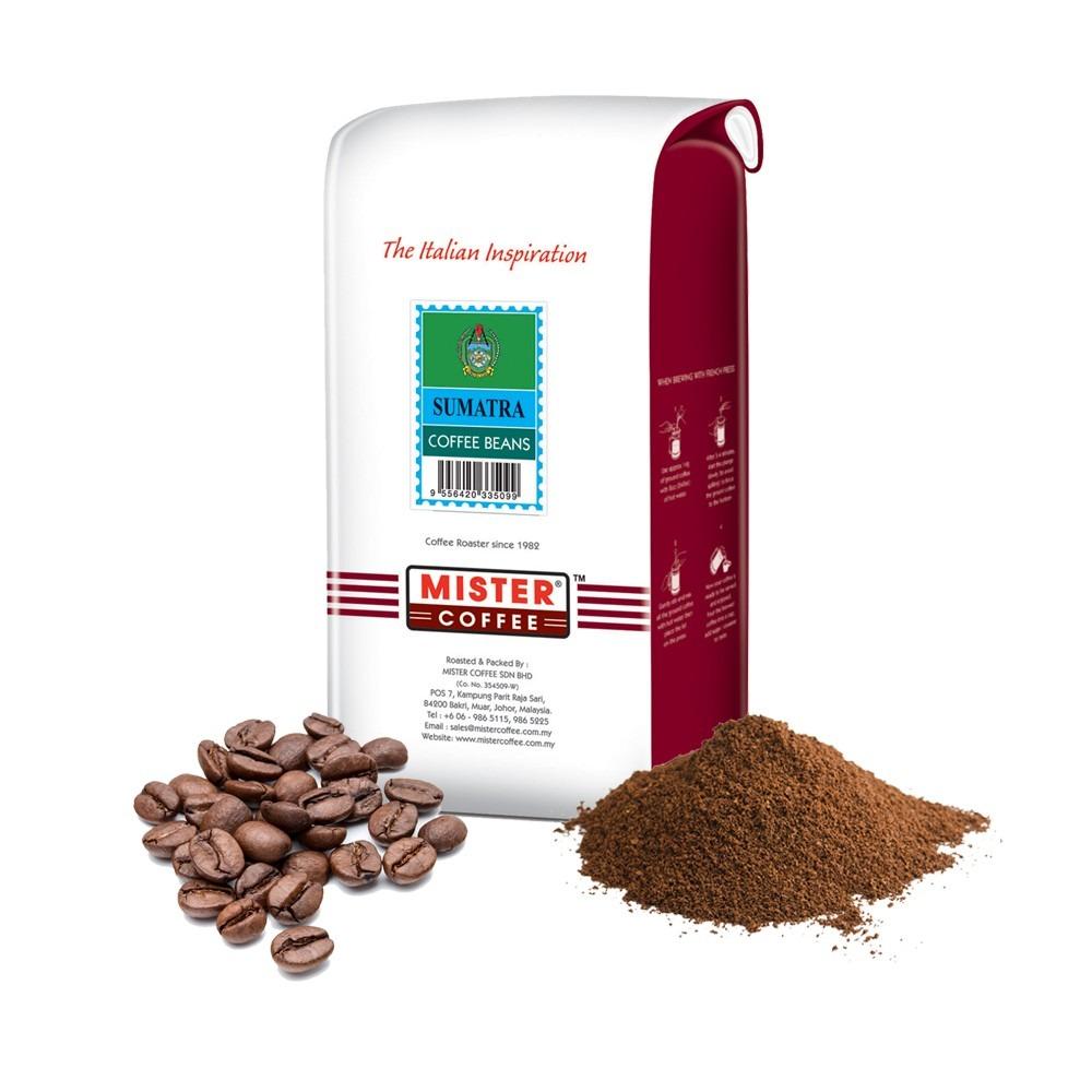 [Mister Coffee] Coffee Beans / Ground Coffee - Sumatra (500g)