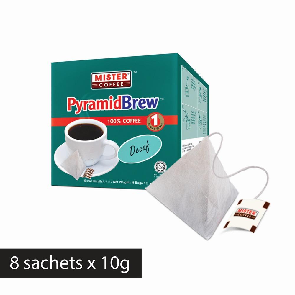 [Mister Coffee] PyramidBrew™️ Decaf (8 sachets)