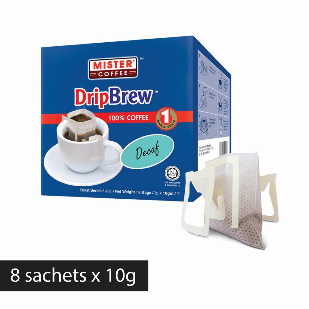 [Mister Coffee] DripBrew™️ Decaf (8 sachets)