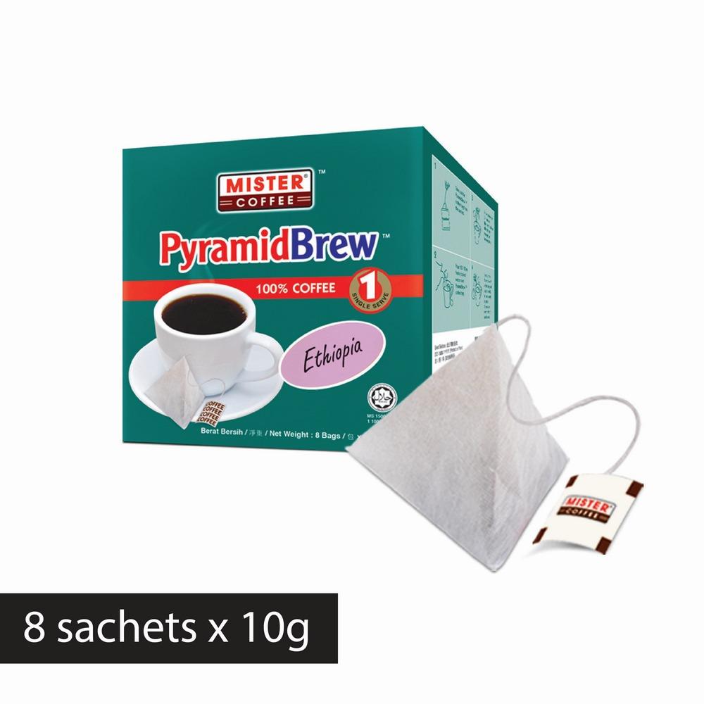 [Mister Coffee] PyramidBrew™️ Ethiopia (8 sachets)
