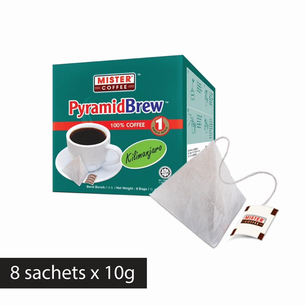 [Mister Coffee] PyramidBrew™️ Kilimanjaro (8 sachets)