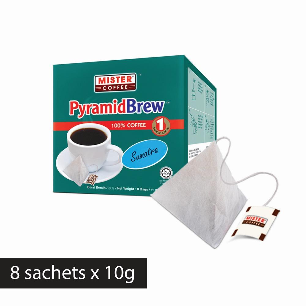 [Mister Coffee] PyramidBrew™️ Sumatra (8 sachets)