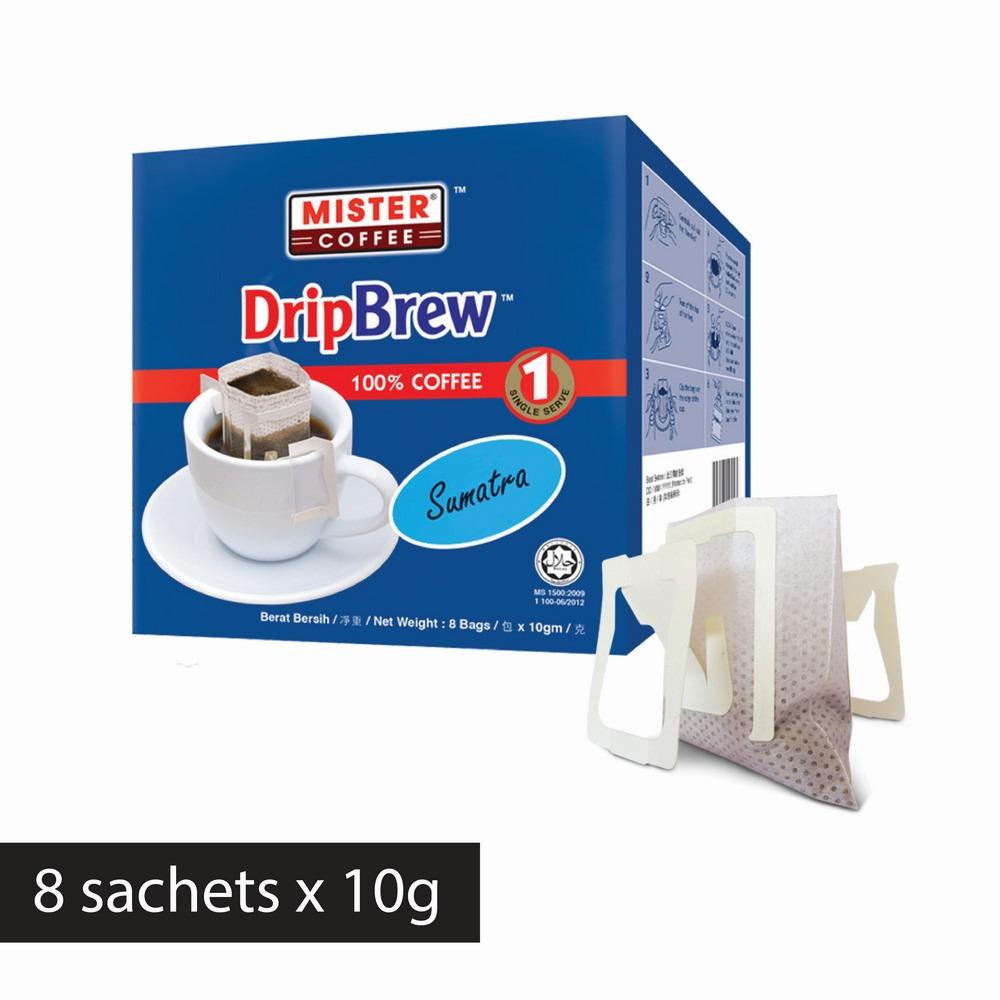 [Mister Coffee] DripBrew™️ Sumatra (8 sachets)