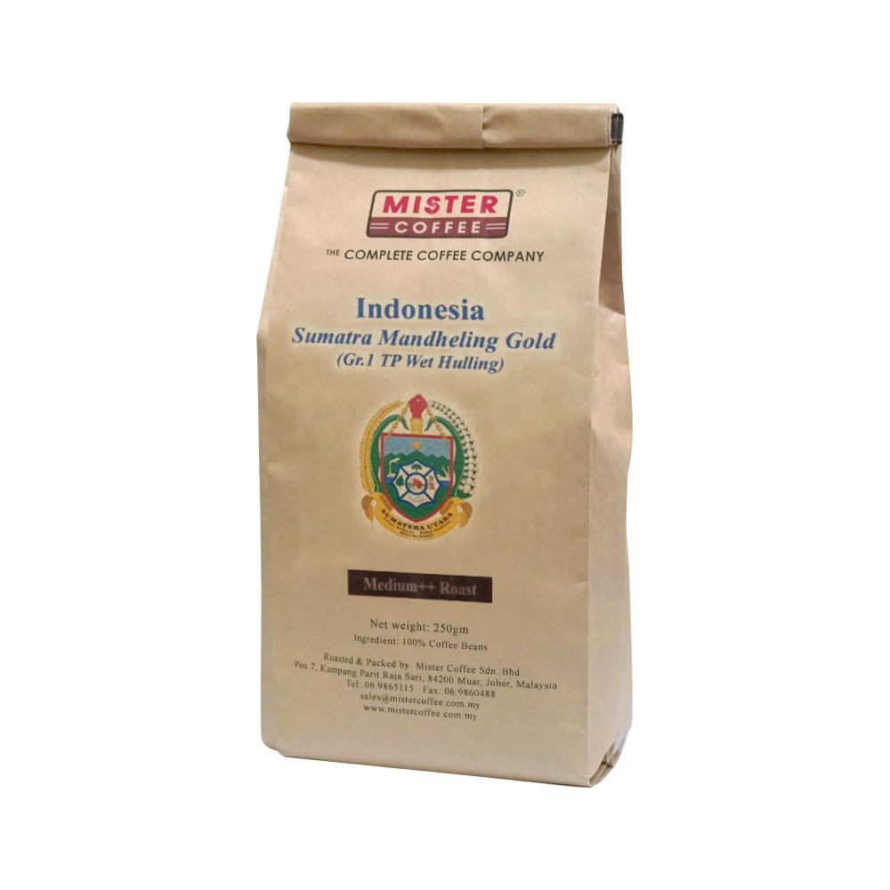 Indonesia Sumatra Mandheling Gold medium++ roast ii