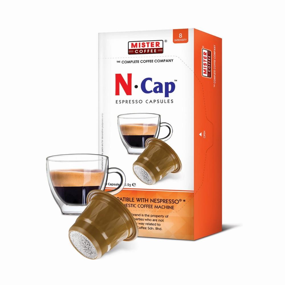Nespresso Compatible N Cap Gold