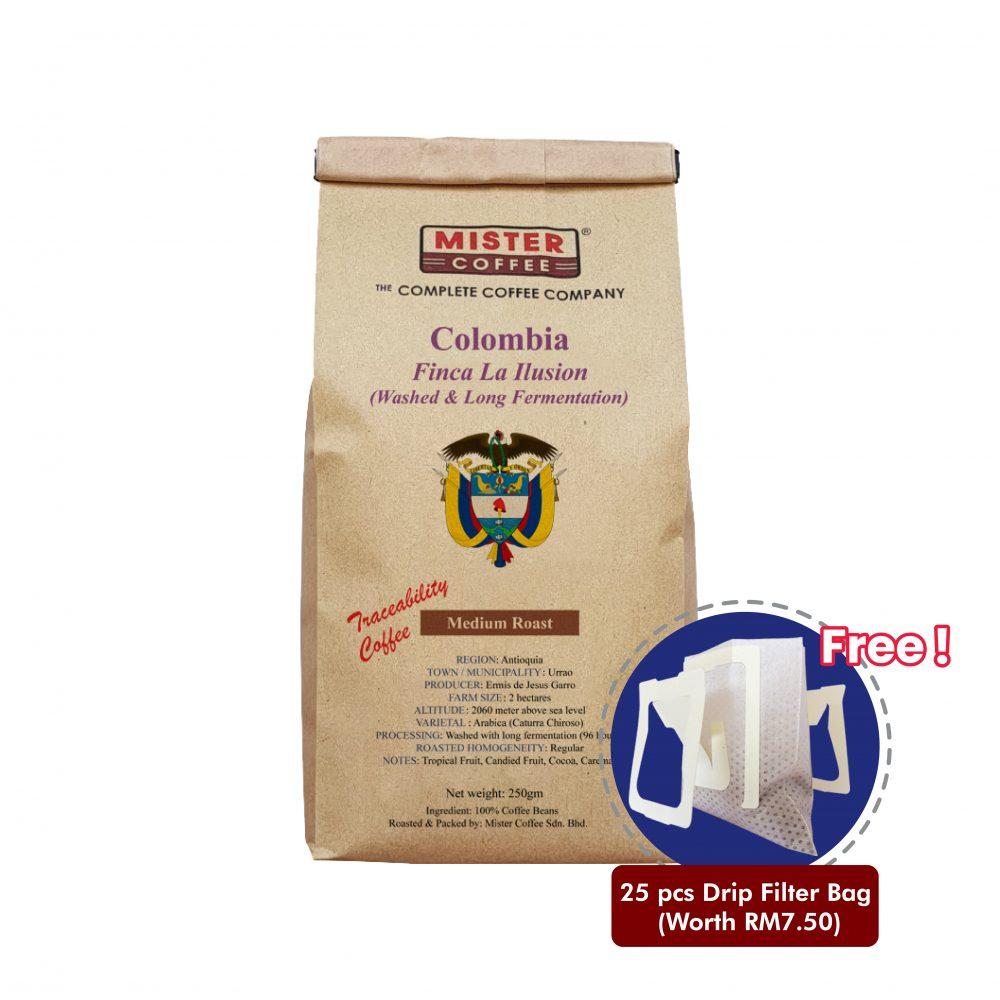 colombia finca la illusion washed long fermentation